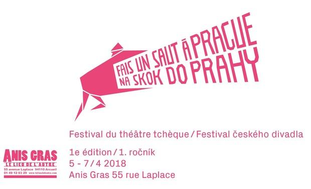Visuel du projet Le festival du théâtre tchèque à Paris // Fais un saut à Prague!