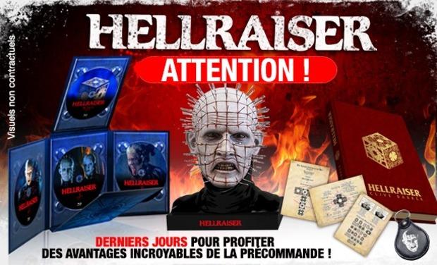 HELLRAISER EN HD - LA TRILOGIE EN CULT'EDITION
