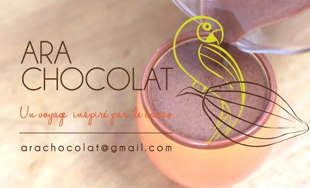 Project visual Financez Ara Chocolat pour faire plus de chocolat végan et vraiment équitable