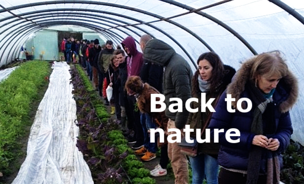 Visueel van project Boerderijschool 'Back to nature'