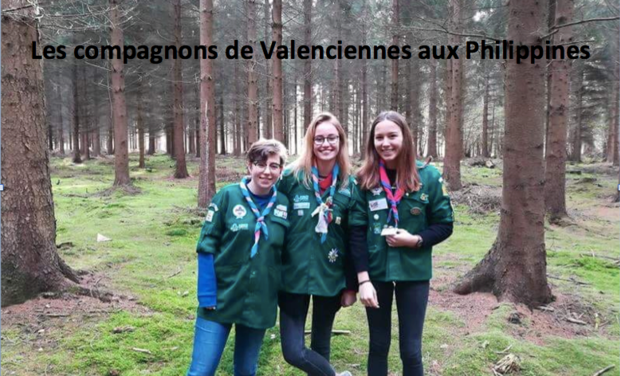 Project visual Les compagnons de Valenciennes aux Philippines