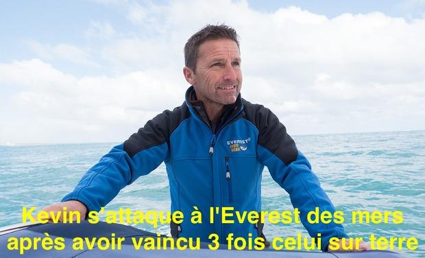 Visueel van project Kevin s'attaque à l'Everest des mers après avoir vaincu 3 fois celui sur terre