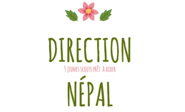 Visueel van project Direction Népal
