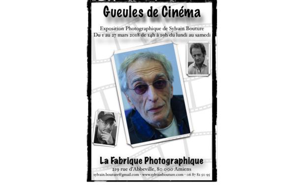 Visuel du projet Gueules de cinéma