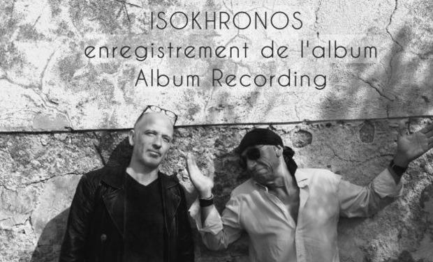 Visuel du projet Isokhronos - Enregistrement de l'album