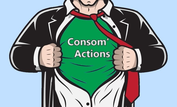 Visuel du projet Consom'actions : passons à l'action, devenons plus responsable !
