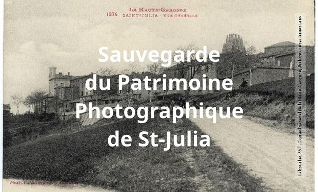 Visueel van project Sauvegarde du Patrimoine Photographique de St-Julia