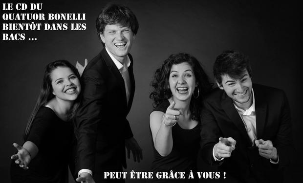 Visuel du projet Bonelli enregistre son premier CD ! Aidez-les !