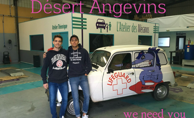 Visueel van project Désert Angevins - 4L Trophy 2018