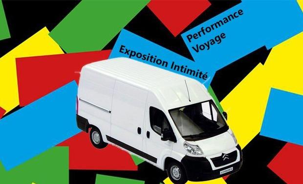 Visueel van project Exposition Intimité: Performance de voyage pour transport de la pièce maitresse