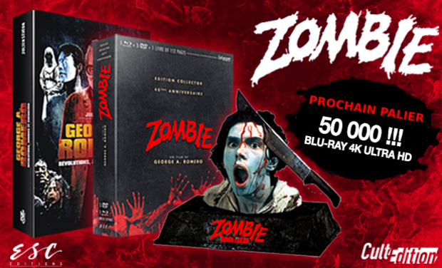 Project visual ZOMBIE [DAWN OF THE DEAD] de George A. Romero - Coffret Collector Cult'Edition
