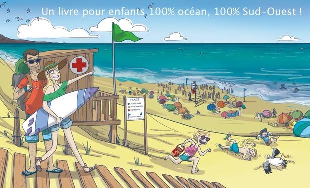 Visuel du projet Livre pour enfants 100% océan, 100% Sud-Ouest !