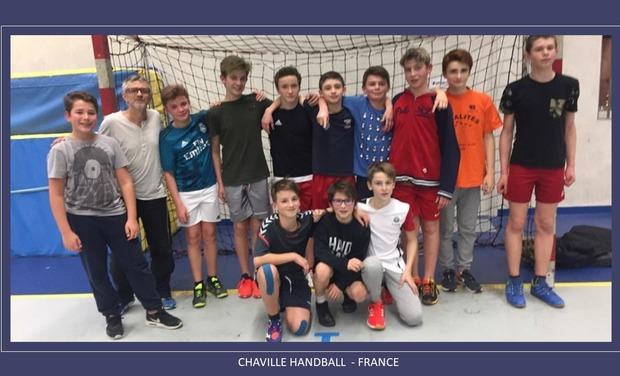 Visuel du projet Chaville Handball : survêtements pour 14 joueurs