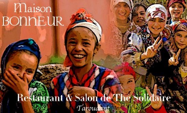 """Visuel du projet Restaurant , Salon de Thé Solidaire """" La Maison Bonheur"""""""