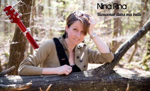 Visuel du projet MA BULLE 1er album de Nina Rina