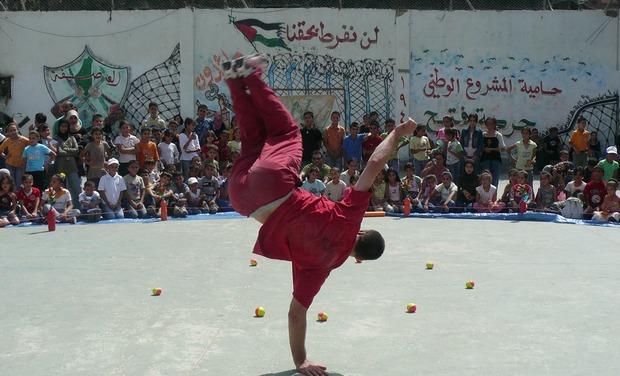 Visuel du projet Culture pour les enfants réfugiés du camp de Balata, Palestine