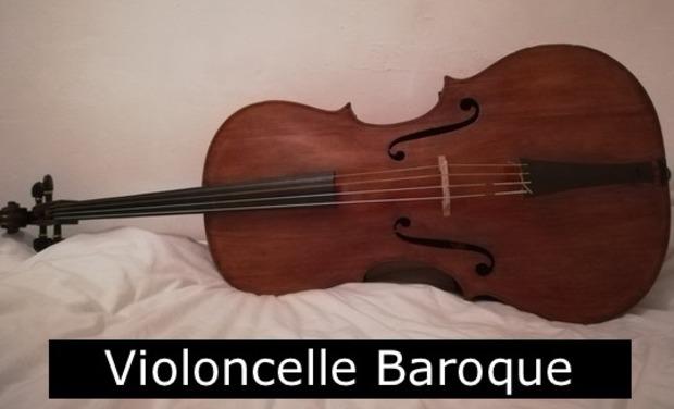 Visuel du projet Violoncelle Baroque