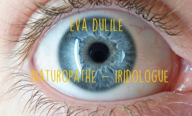 Visueel van project Bilan de santé : l'iridologie avec Eva Dulile Natutopathe-Iridologue