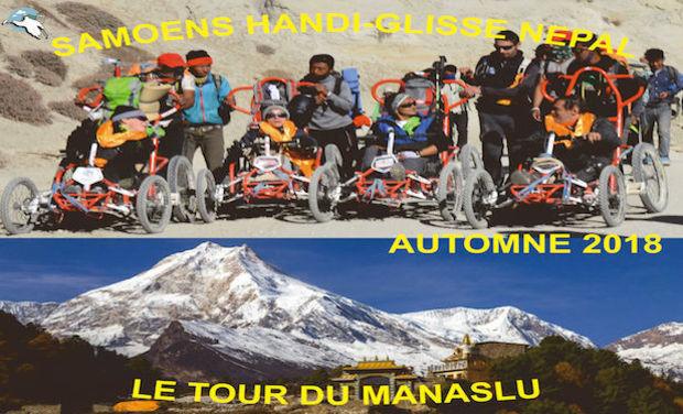 Visuel du projet le tour du Manaslu en fauteuil (FTT)