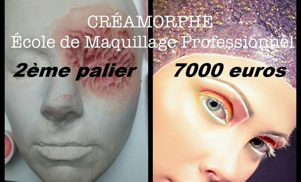 Visuel du projet CREAMORPHE  Ecole de maquillage professionnel et d'effets spéciaux