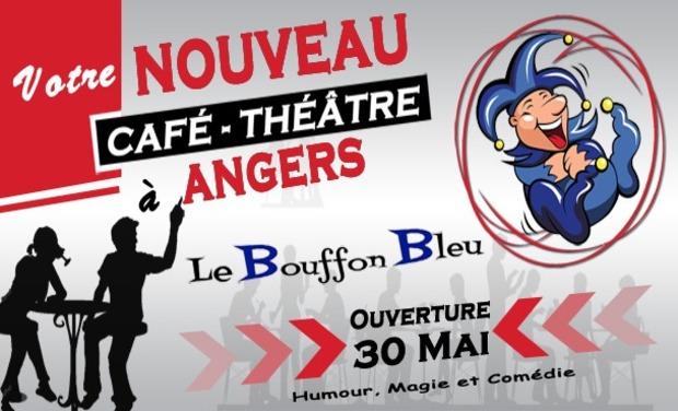 Visuel du projet Café-théâtre Angers - Le Bouffon Bleu