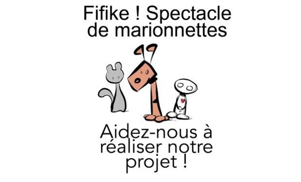 Visuel du projet Fifike ! - spectacle de marionnettes