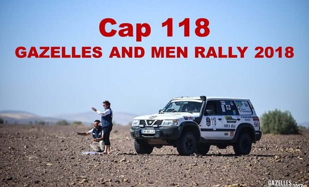 Visuel du projet CAP 118 GAZELLES AND MEN RALLY 2018