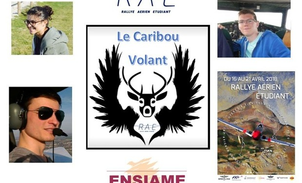 Visuel du projet Rallye Aérien Etudiant : Le caribou volant