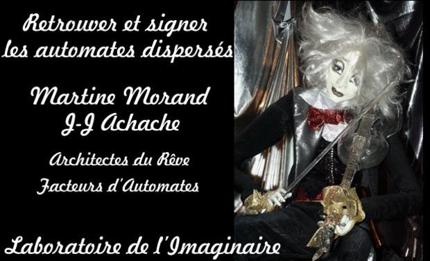 Visuel du projet Retrouver et signer les automates dispersés MartineMorand/JJAchache