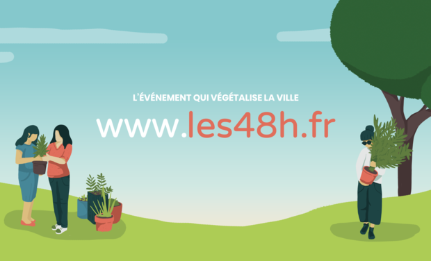 Project visual Les 48h de l'agriculture Urbaine à Paris & IDF