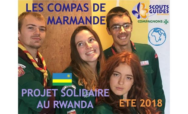 Visuel du projet Projet solidaire au Rwanda - Les Compas de Marmande