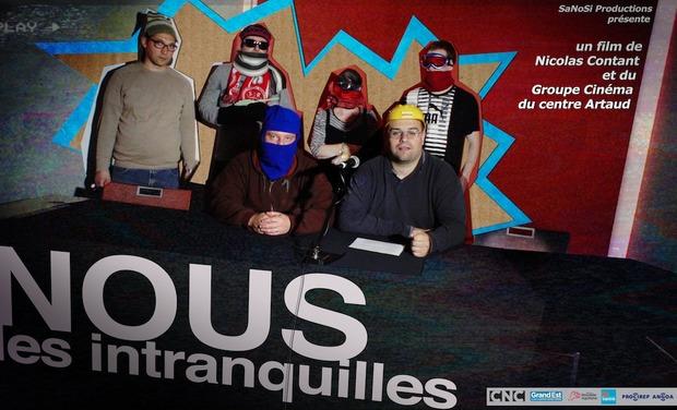 Project visual Souscription édition VOD / DVD du film Nous les Intranquilles