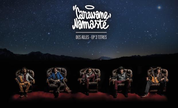 """Visuel du projet Co-financer le nouvel  album """"DES AILES"""" de la caravane namasté"""