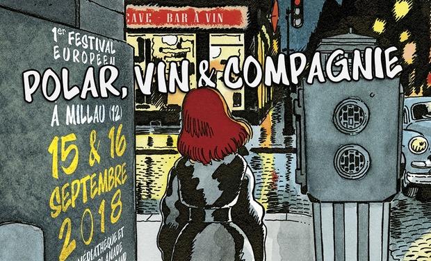 """Visuel du projet Festival """" Polar, Vin et Compagnie..."""""""