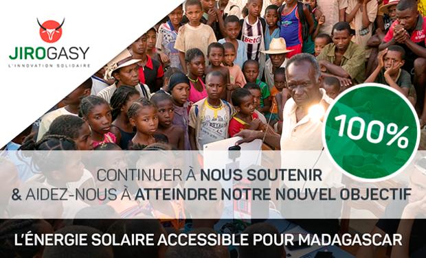 Visuel du projet JIROGASY - L'énergie solaire accessible pour Madagascar