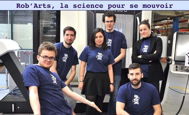Visuel du projet Rob'Arts, la science pour se mouvoir