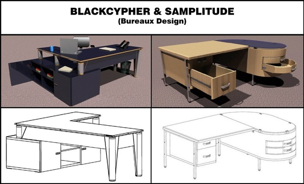 Visuel du projet 1ere collection design d'un mobilier basé sur l'usage