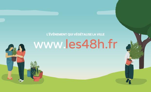 Visuel du projet Les 48h de l'Agriculture Urbaine à Grenoble