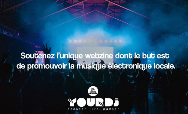 Visueel van project YourDJ : Financement du nouveau site web