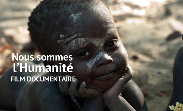 Visuel du projet Nous sommes l'Humanité, le documentaire avec les Jarawas au cinéma le 2 mai