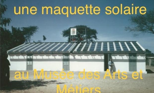 Visuel du projet Une maquette solaire au Musée des Arts et Métiers à Paris