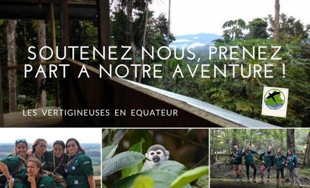 Visuel du projet Aidez à créer l'arche des Vertigineuses en Equateur !