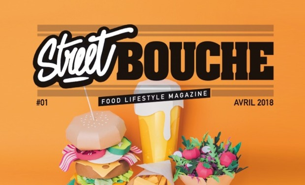 "Visueel van project Street Bouche Magazine ""Food Lifestyle"""