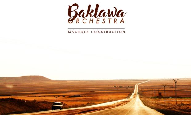Project visual Baklawa Orchestra - Musiques du monde actuel