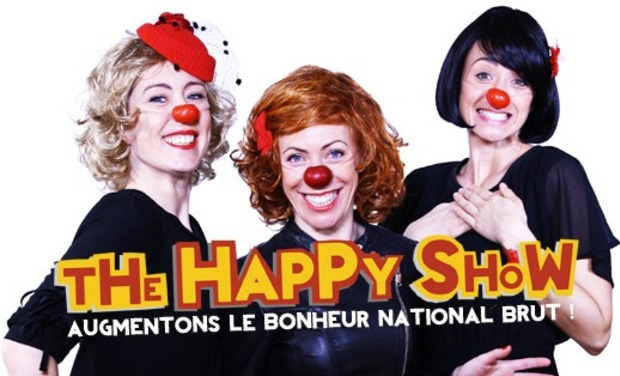 Visuel du projet The Happy Show • Augmentons le Bonheur National Brut !
