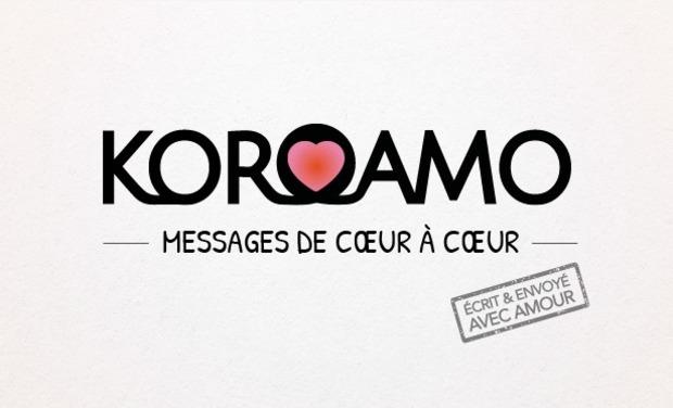 Visuel du projet Koroamo - Messages de coeur à coeur