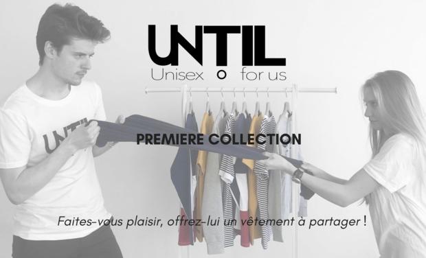 Visueel van project UNTIL première collection