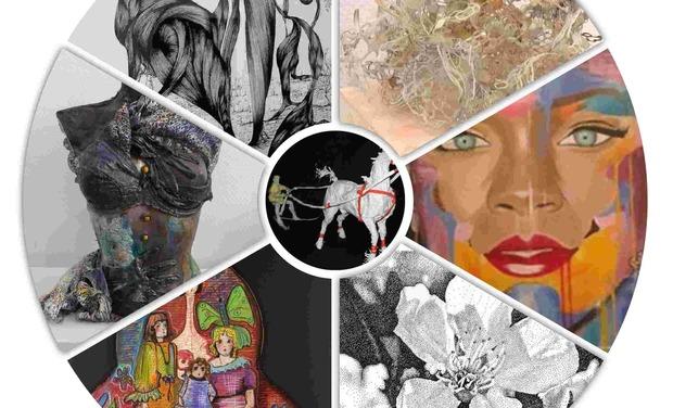 Visuel du projet La Galerie des Arts Plastiques au Salon ART3F Luxembourg Coup de Pouce