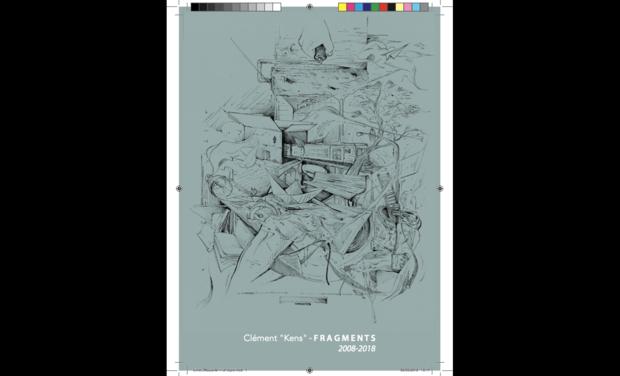 """Visuel du projet Projet de Livre, Clément """"Kens"""" - Fragments (2008-2018)"""