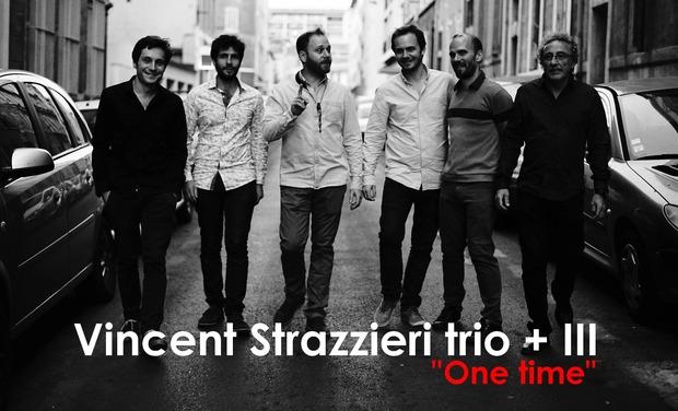 Visuel du projet Financez l'album du Vincent Strazzieri trio + III